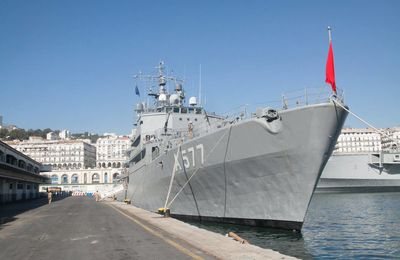 Visit of NATO Mine Countermeasures Group 2 to Algeria