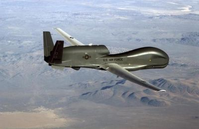 First Northrop Grumman UAV parts made in South Korea