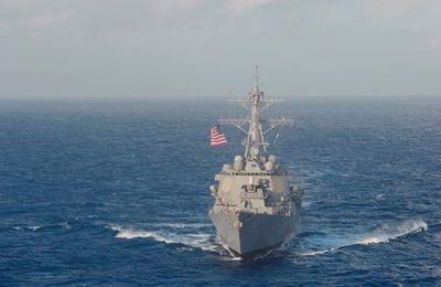 Tension en mer de Chine: les marines américaine et chinoise se parlent