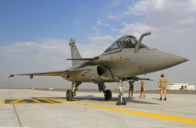 Dubai Airshow 2015 - Rafale Solo Display