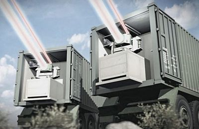 Air Defense: Laser Iron Beam For Israel