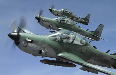 Lebanese AF Selects A-29 Super Tucano for Close Air Support Role