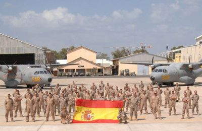 Spanish Air Force continues supporting Operation Atalanta