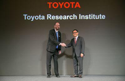 Toyota va créer un centre de R&D dédié à la robotique et l'intelligence artificielle