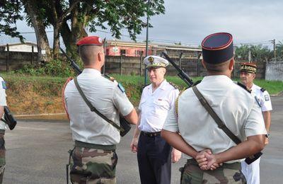 EFG : Visite de l'inspecteur des armées