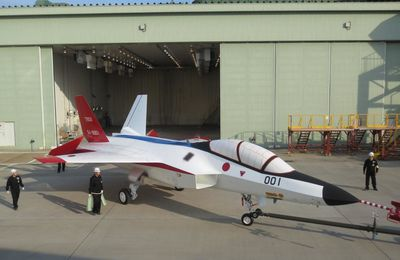 Japan Preparing to Test-Fly MHI-Built Stealth Jet