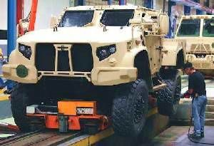 Oshkosh Resumes Work on Joint Light Tactical Vehicle
