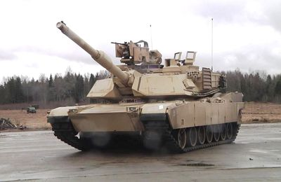 General Dynamics Awarded $92 Million for Abrams Tank Production