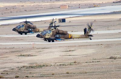 The Helicopter Division Trained for Unexpected Operational Events