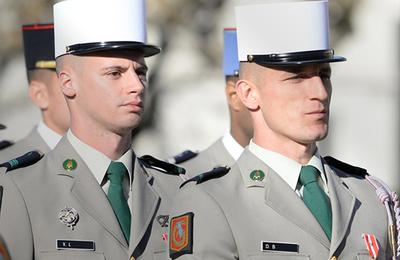 Deux légionnaires du 2ème REI à l'honneur
