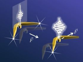 Nano-drones are powered by light