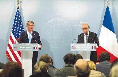 Lutte contre Daesh - Réunion des ministres de la Défense
