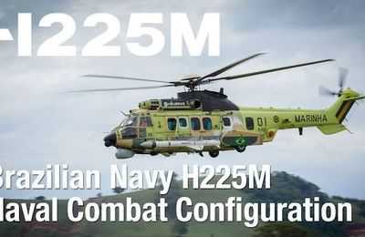 Brazilian Navy H225M Naval Combat Configuration