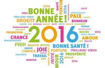 2016 et ses résolutions