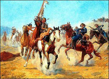 La question indienne dans la conquête de l'Ouest