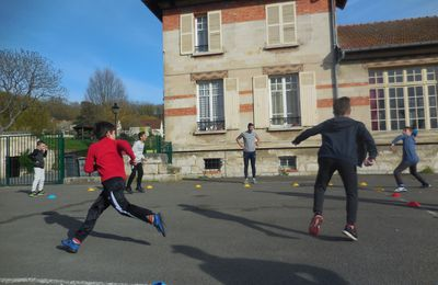 Lundi 11 avril - Bienvenue au stage multisports