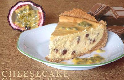 Cheesecake passion-chocolat