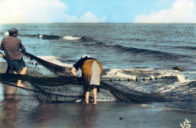 Cartes Postales sur la pêche à Portiragnes...