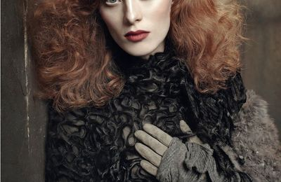 Karen Elson: Viva Paris, The Lions NY and Tess London -> IMG Worldwide