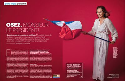 Interview de Ségolène Royal au Parisien Magazine