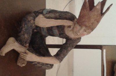 Sylvie MOINE, céramiste sculpteur expose 16, rue du Boeuf à Lyon, dans le quartier Saint Jean