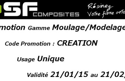 Promotion Découverte gamme Moulage/Modelage