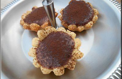 Tartelettes à la mousse au chocolat