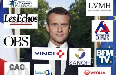 République Française : et les parrains (sponsors) ?