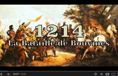 La bataille de Bouvines.