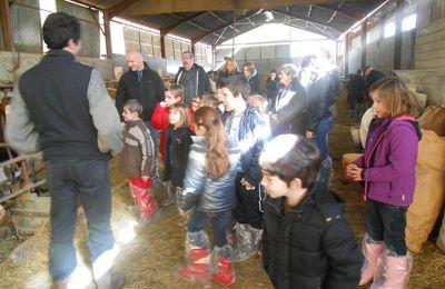 Rencontre Intergénérationnelle entre la maison de retraite Saint Antoine et l'Ecole Primaire de Tardets.