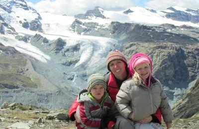 Montée au Gornergrat à 3089 m depuis Zermatt - 14 août 2014