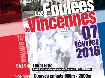 #65. Foulées de Vincennes 2016: sous les 39 minutes.