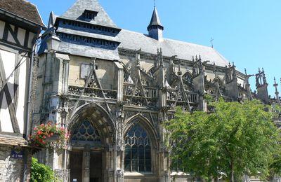 L'église de Pont-de-l'Arche (Notre-Dame-des-arts, autrefois Saint-Vigor)
