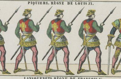 La naissance de l'infanterie française à Pont-de-l'Arche (1481)