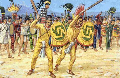 Les armes des Aztèques.