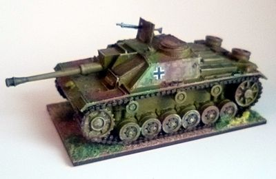 Bolt Action 28mm : StuG III ausf G.