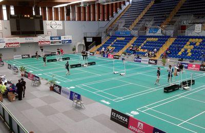 Mon autre passion : le badminton.