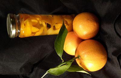 Faire son extrait d'orange  ..... c'est pas si compliqué