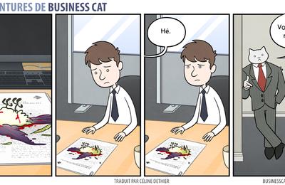 Les aventures de Business Cat [ N° o3 ]
