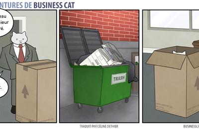 Les aventures de Business Cat [ N° o4 ]