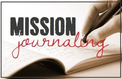 Mission journaling #1