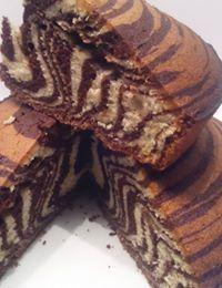 Gâteau tigré pour un super goûter !