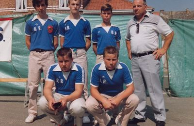 Finale de la Coupe de Belgique Juniors à Bièvène.