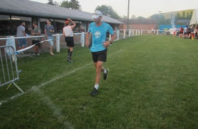 Rudy Romain en termine avec son parcours de 15 kms