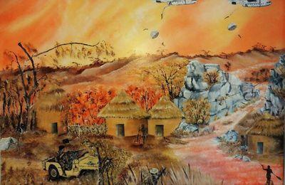 Une nouvelle et magnifique peinture de Guy Clicheroux.