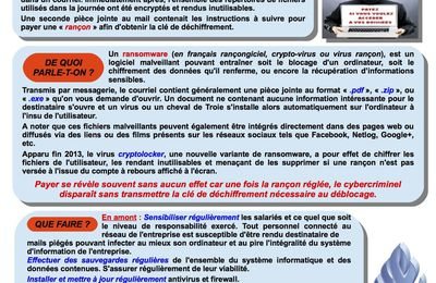 "Attention aux ""ransonwares"""