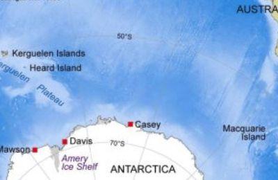 L'activité volcanique modifie la géologie de l' Antarctique