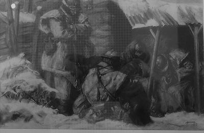 Centenaire 14/18: Froid intense dans l'hiver 1917 et crise du charbon.