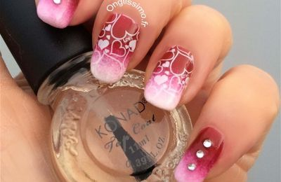 DIY Nail Art Saint Valentin ♥