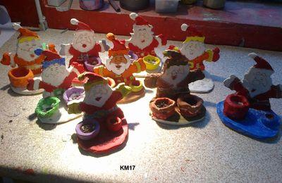 Sculpture enfants FL : le père noël